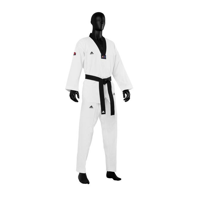 Image of   Adidas Champion III Taekwondo Suit - Hvid / Black