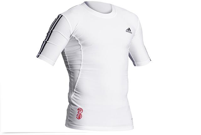 Image of   Adidas Closefit Shirt Taekwondo - Mænd - Hvid / Black - XXL