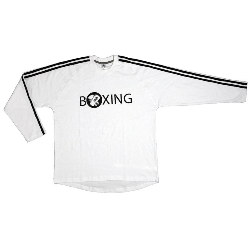 Image of   Adidas Boxing Langærmet T-Shirt - Mænd - White_M