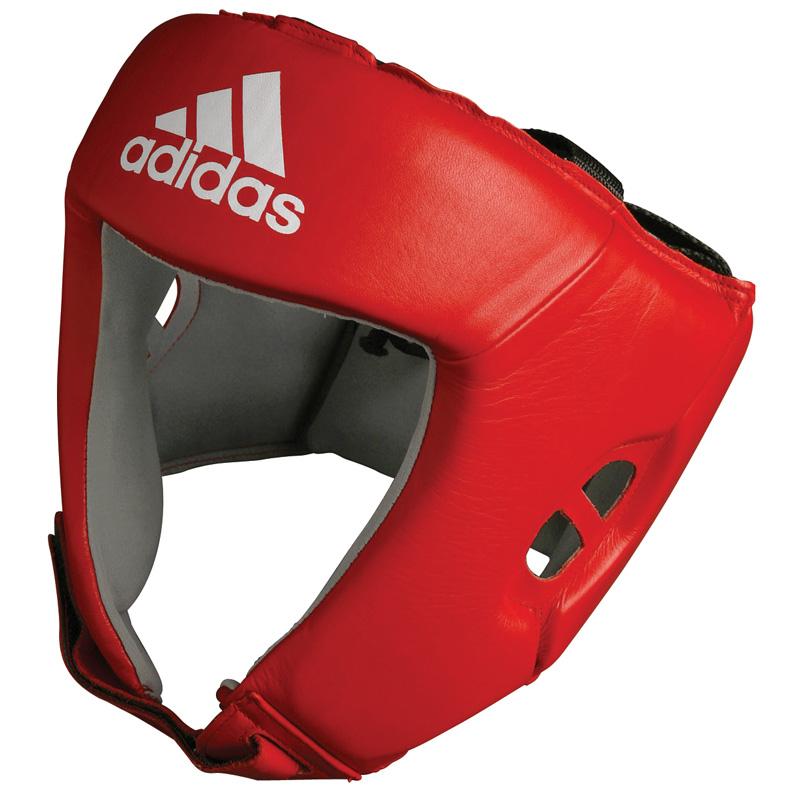 Image of   Adidas AIBA Head Guard - Red_XL