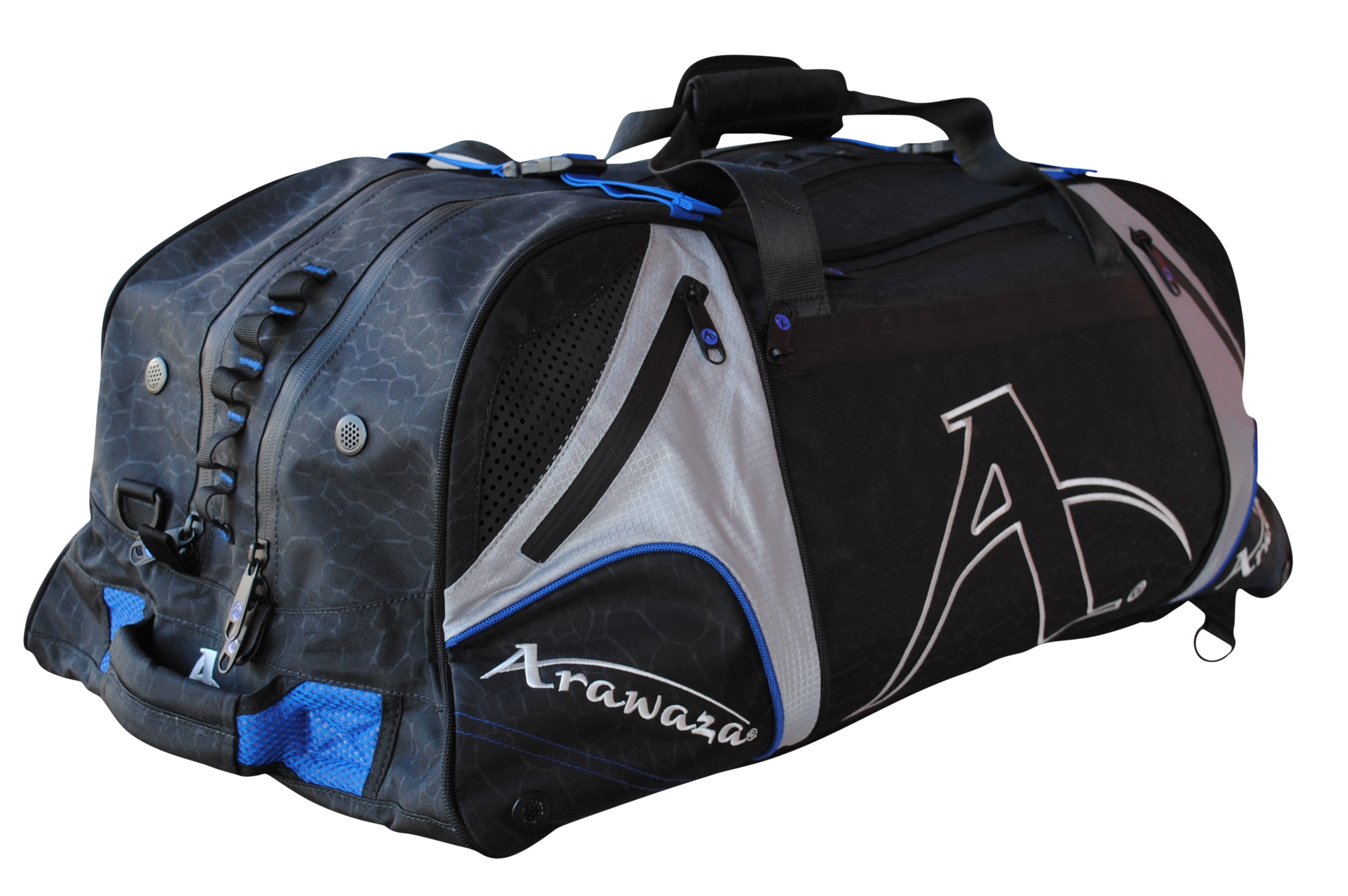 Image of   Arawaza Multi Functional Sports Bag - 60 x 30 x 30 cm - Blå