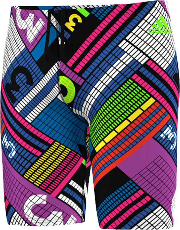 adidas Infinitex+ Graphic Zwembroek, Zwart, 42, Male, Zwemmen