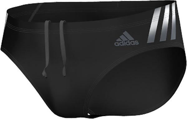 adidas Infinitex Streamline Zwemshort, Zwart, 26, Male, Zwemmen