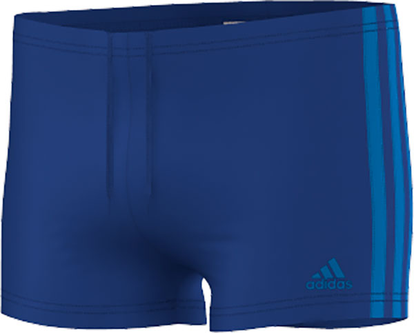 Image of   Adidas 3-Stripes Swim Boxers - Boys - College Royal / Shock Blue - 116