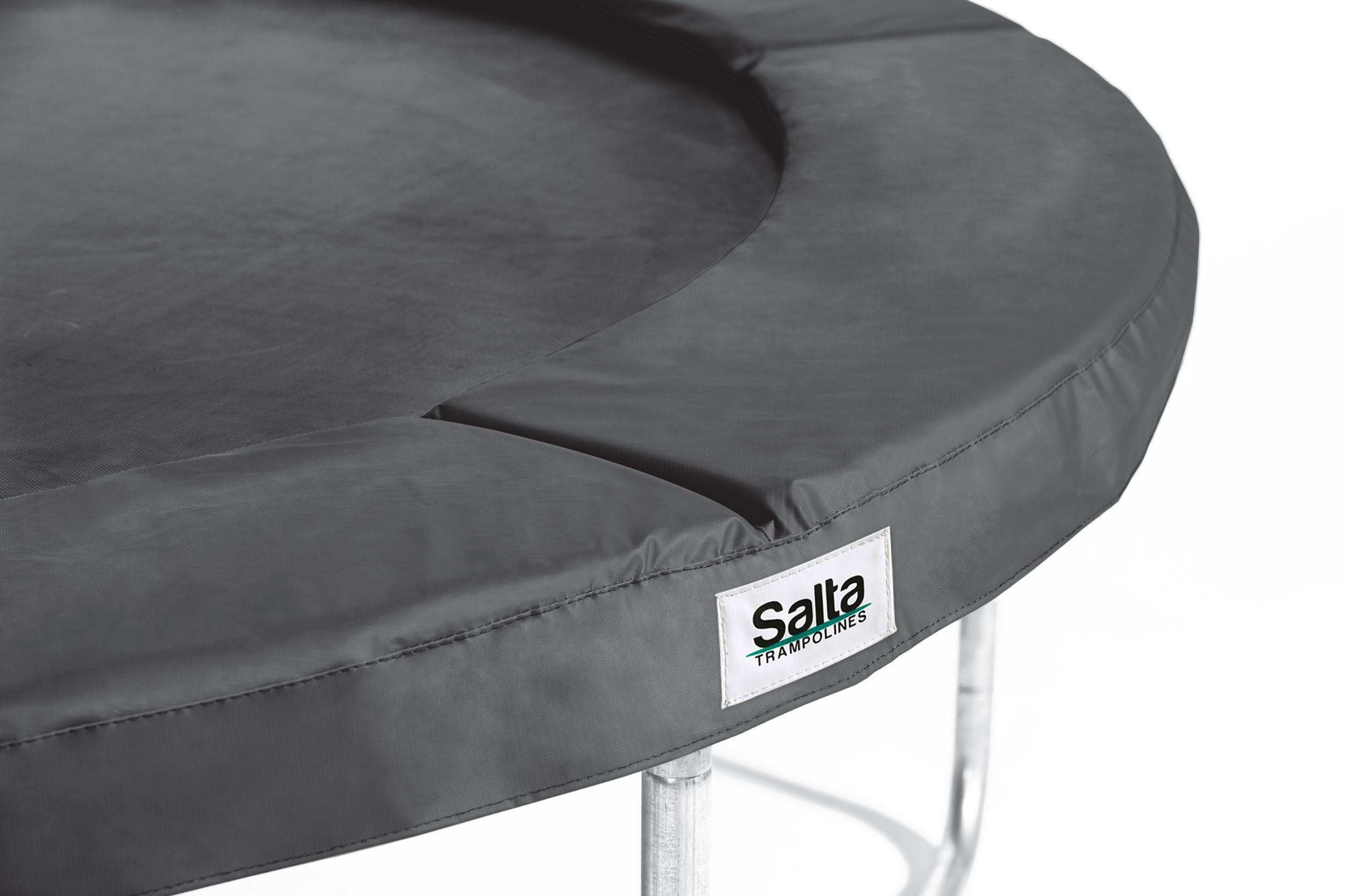 Image of   Salta 12 ft Disport Safety Pad runde - 366 cm - Sort