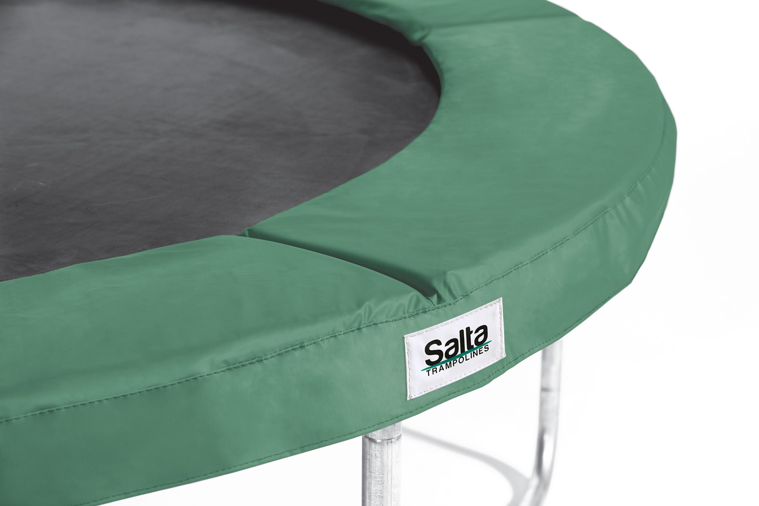Image of   Salta 12 ft Disport Safety Pad runde - 366 cm - Grøn