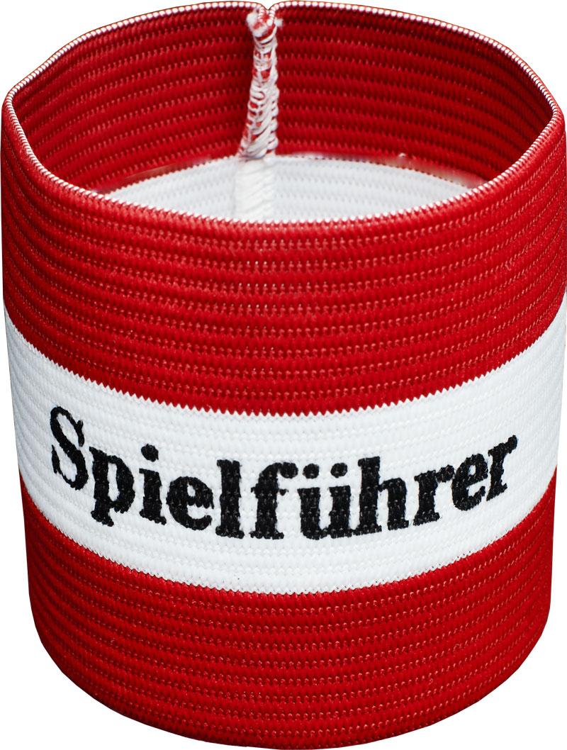 Image of   Agility Sports Captains 'Spielführer' Armbånd - Rød