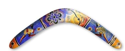 Image of   Boemerang Fan Aboriginal - Righthanded - 28 cm - 85 gr