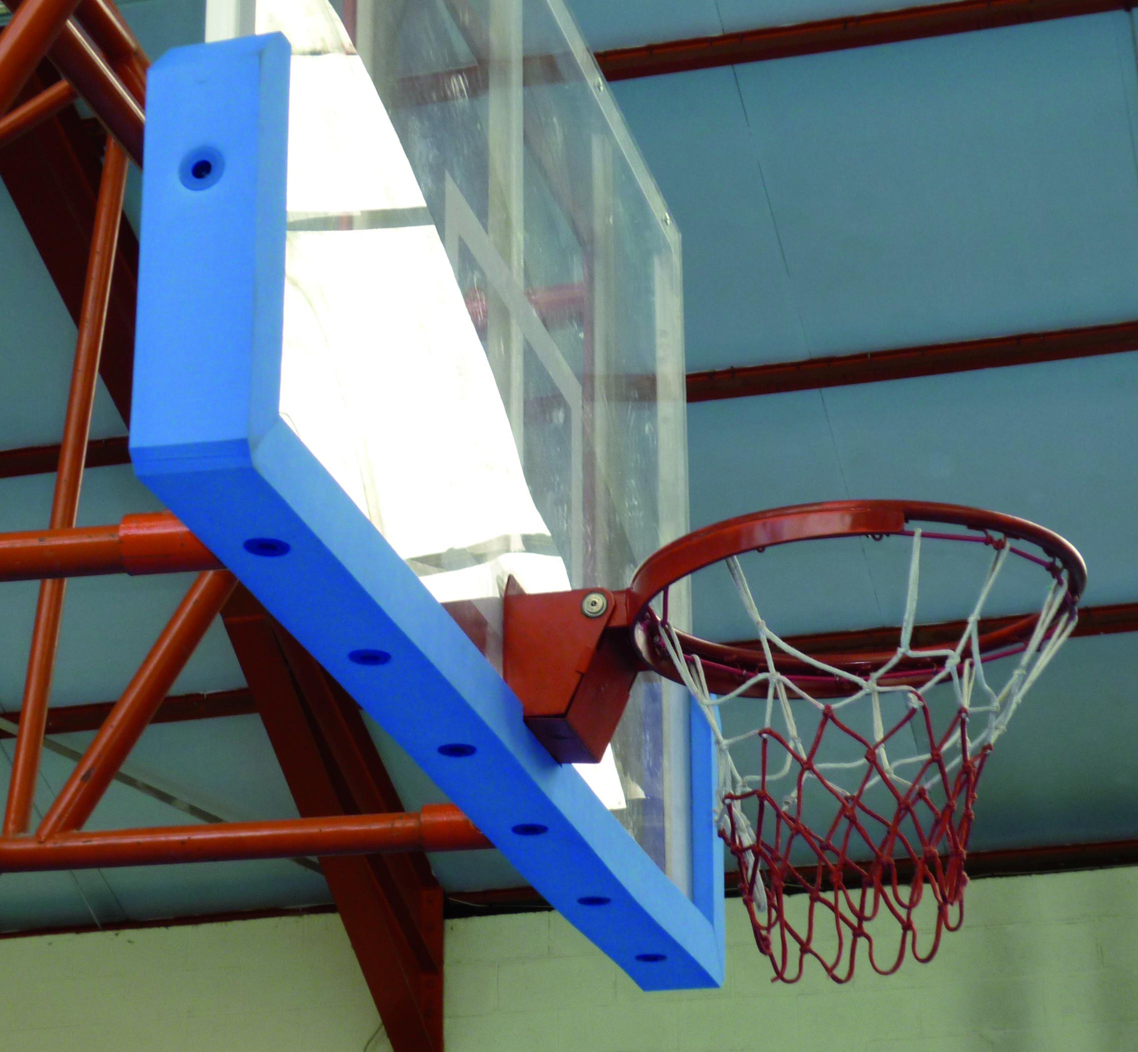 Image of   Basketball Screw-on beskyttelse skum til bord 180 x 105 cm