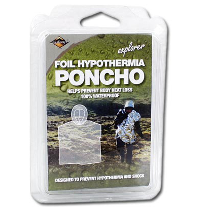 Image of   Bushcraft Emergency Foil Poncho