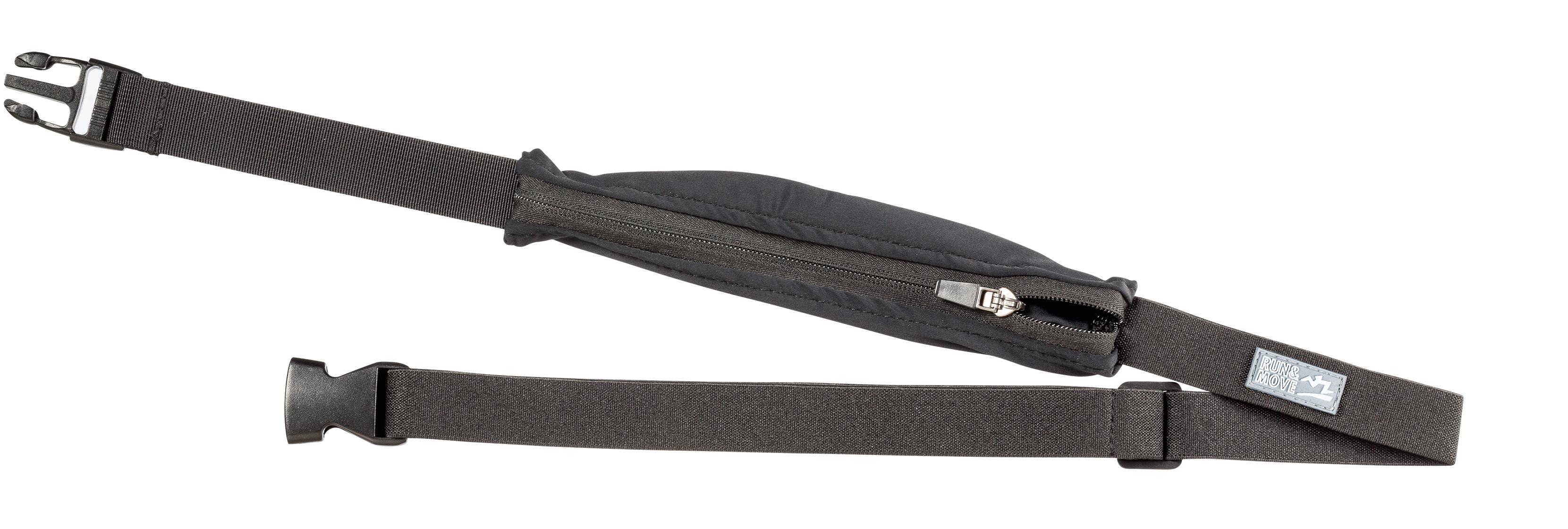 Verstelbare heupgordel met een elastische pocket die meegroeit met de inhoud. voorzien van een ritssluiting. ...