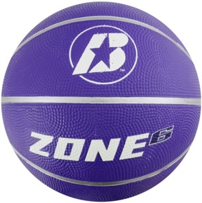 Image of   Baden Sports Zone Basketball - Neon Purple - Size 6