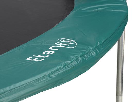 Image of   Etan Basic Trampolin Sikkerhed Pad - Ø 12 ft / 370 cm - Grøn