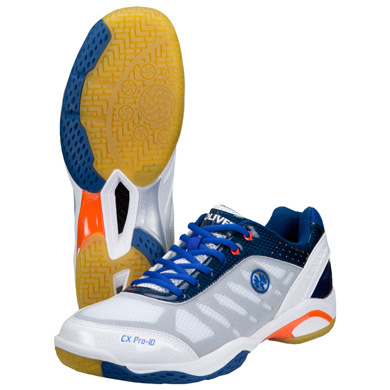 Image of   Oliver CX Pro-10 Indoor Shoes - White / Blue - 37