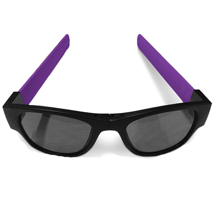 Image of   Clix Sunglasses - Black / Purple - Black