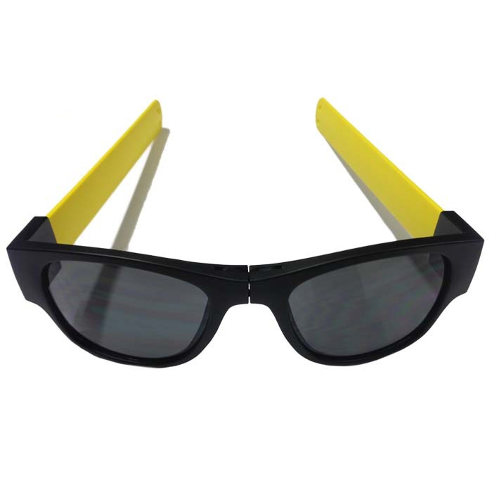 Image of   Clix Sunglasses - Black / Yellow - Black