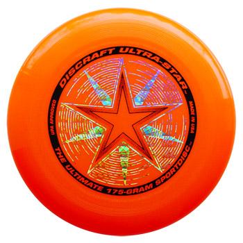 Image of   Discraft Ultra Star Frisbee - Orange