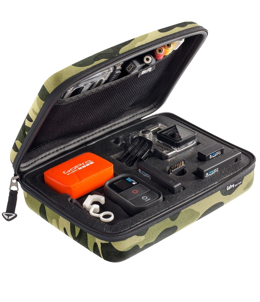 Image of   Sp Gadgets Case GoPro - Edition - Camo - Small