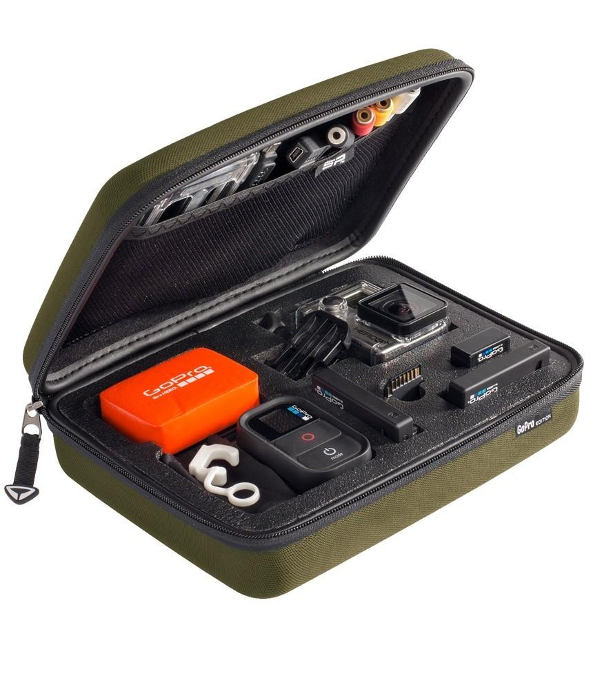 Image of   Sp Gadgets Case GoPro - Edition - Olive - Large