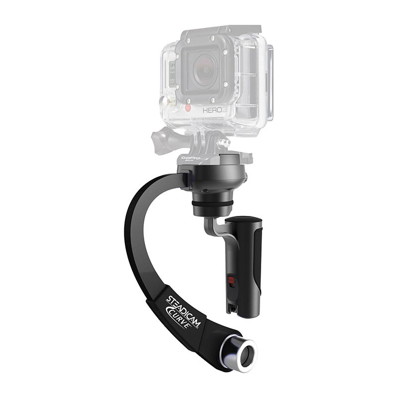 Steadicam Curve - Stabilisator voor GoPro - Zwart