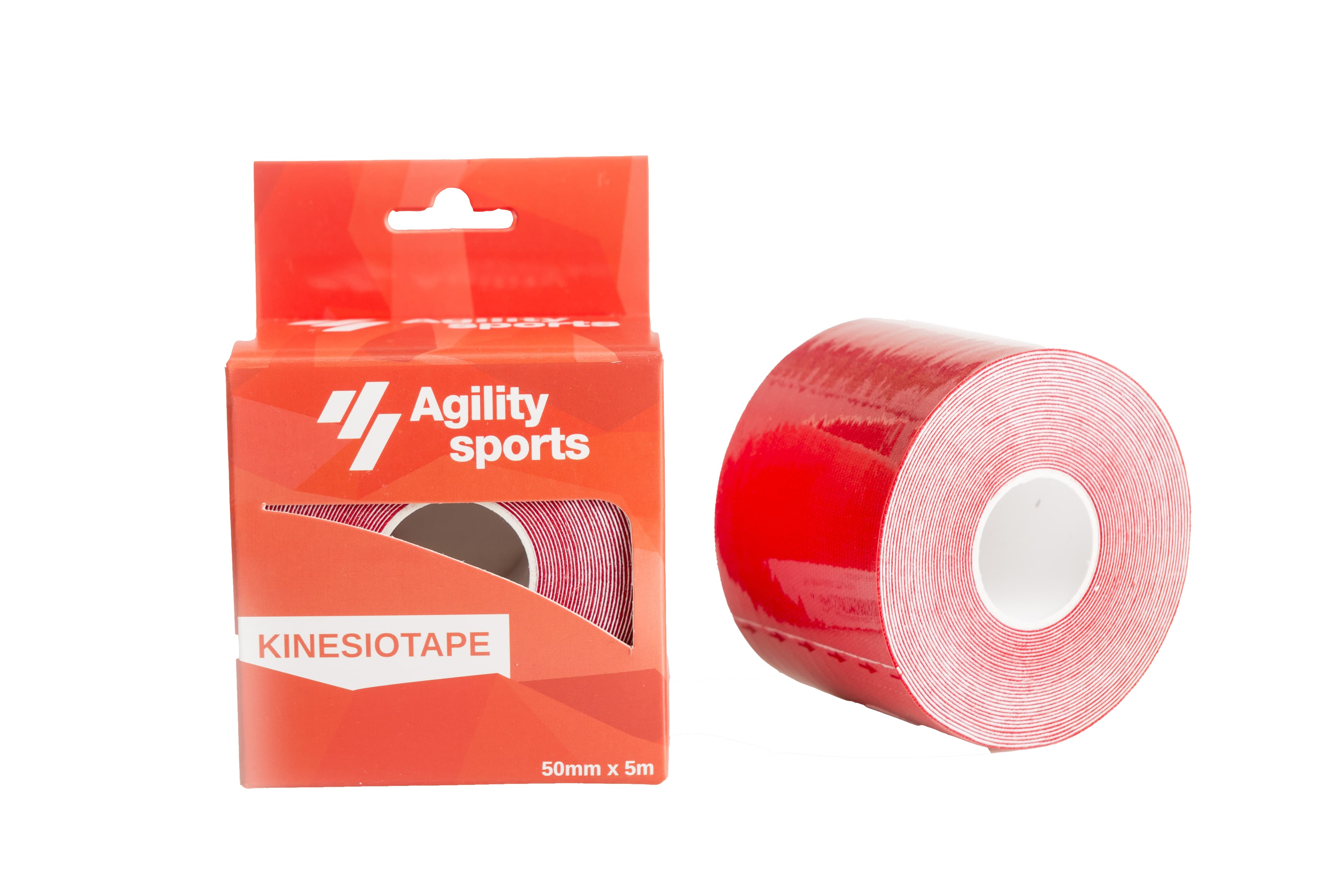Image of   Agility Sports Kinesio Tape - Red