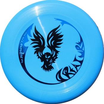 Image of   Eurodisc Ultimate Creature Frisbee - Lyseblå