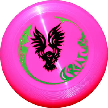 Image of   Eurodisc Ultimate Creature Frisbee - Pink