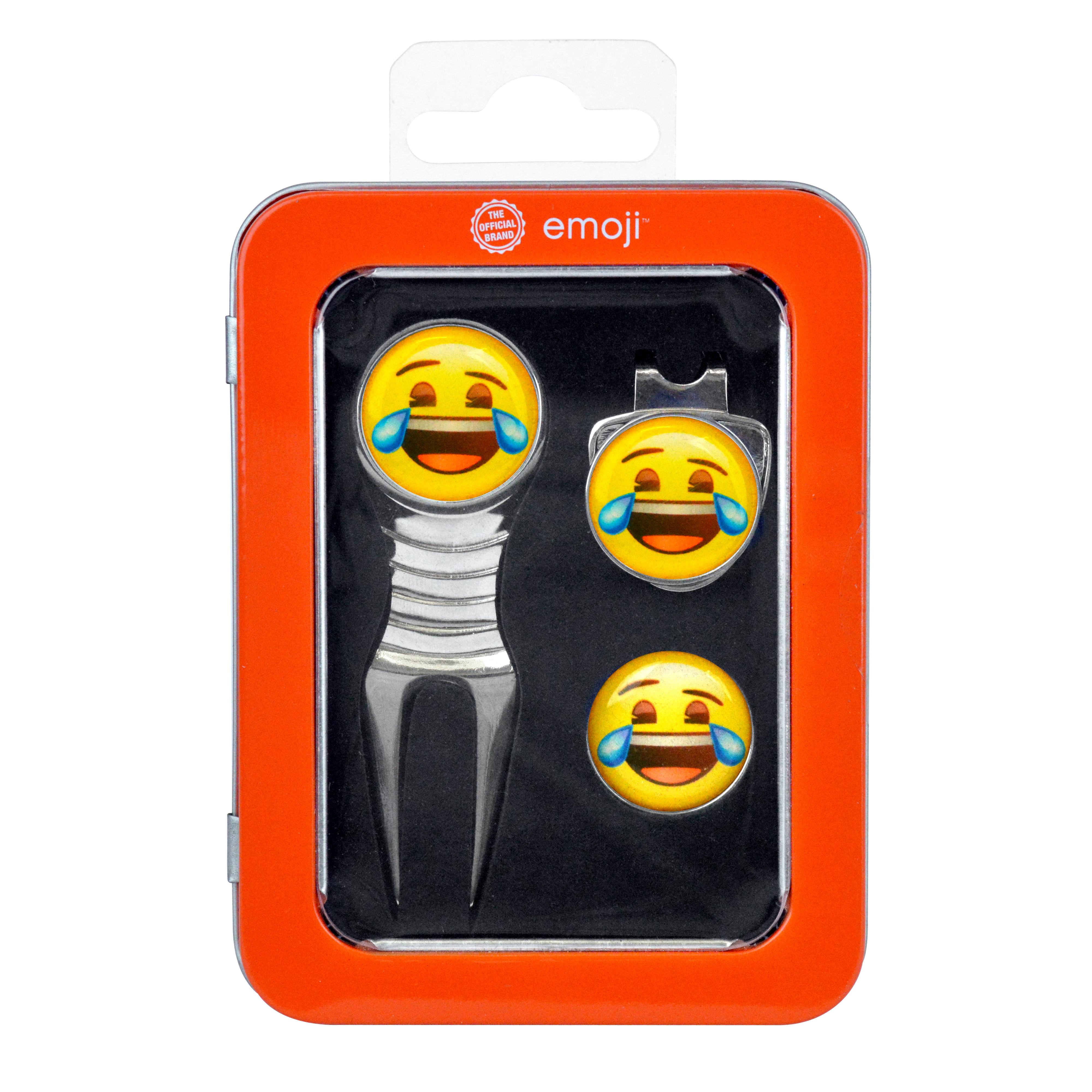 Emoji Divot Tool Giftset Laugh
