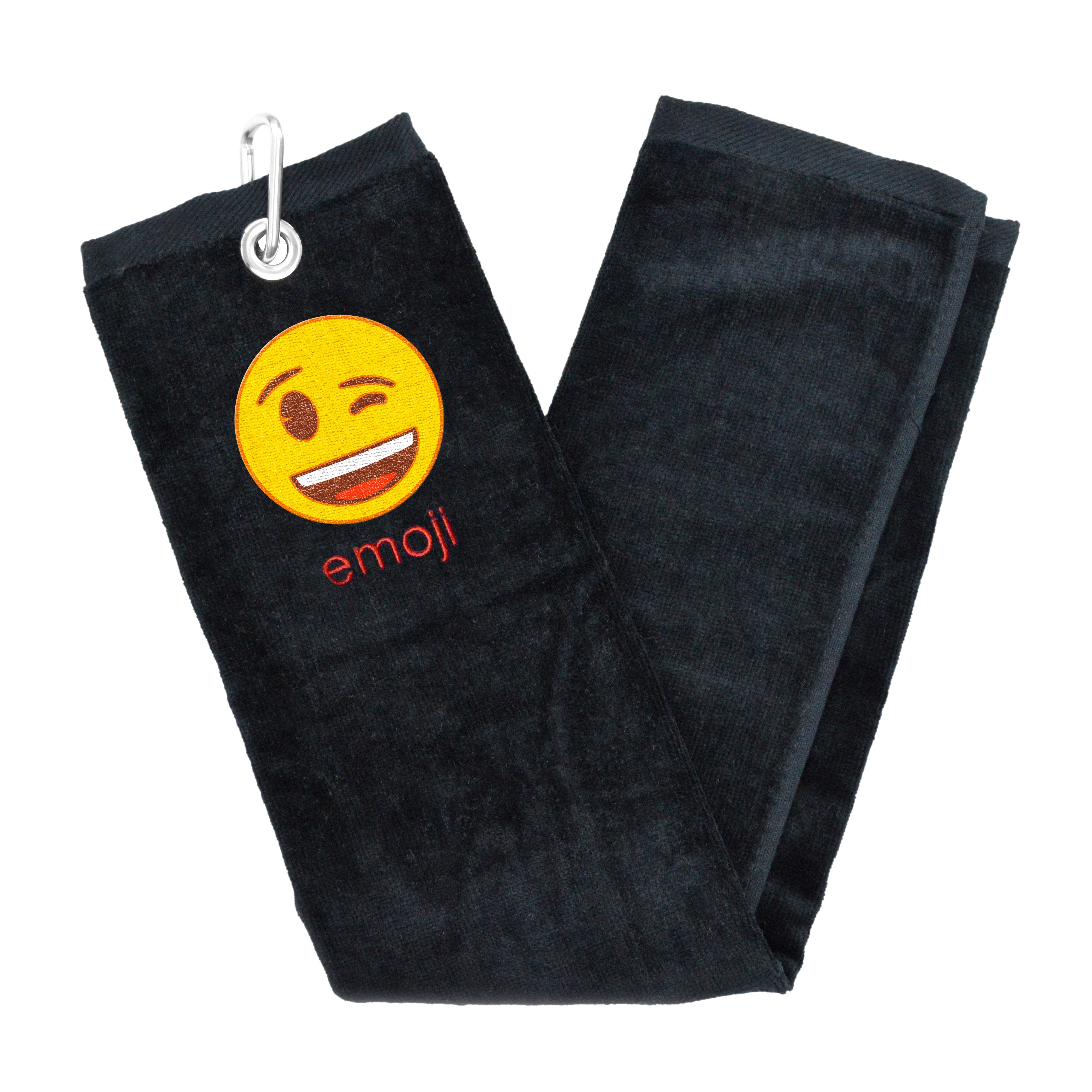 Image of   Emoji Golf Håndklæde - Blink