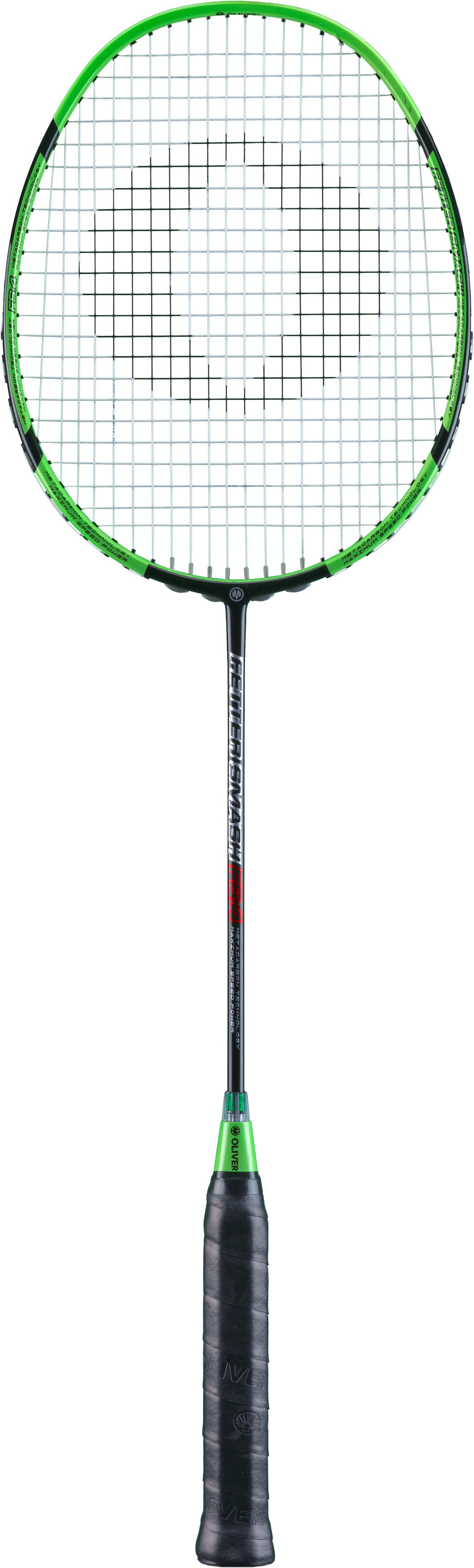 Image of   Oliver FETTER SMASH 4.0 Badminton Racket - Black / Green