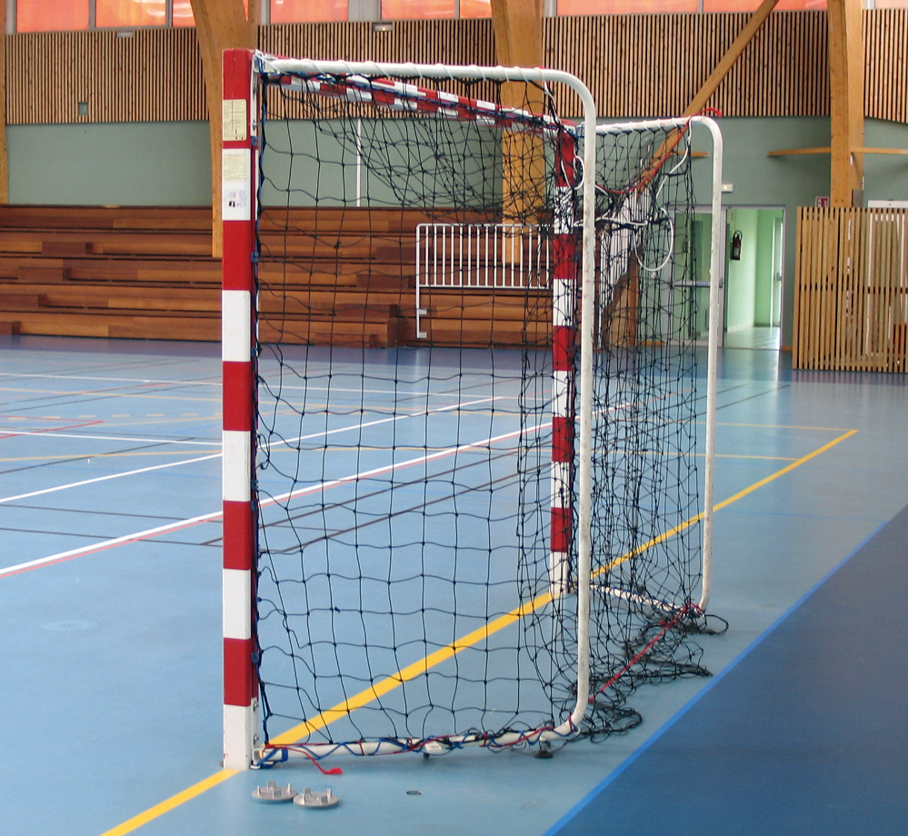 Image of   Aluminium Mobile Handball Goal Sectional Fold-In - 2 stk.