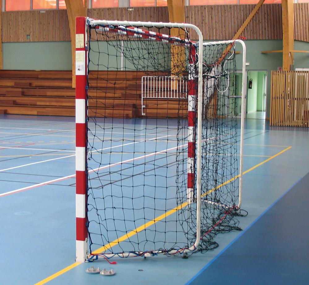 Image of   Aluminium Handball Goal Sectional Fold-In - 2 stk.