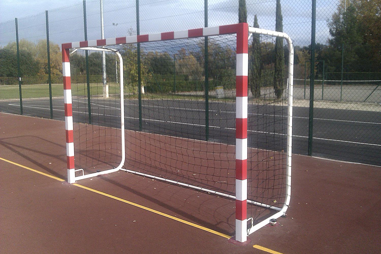 Image of   Aluminium Mobile Handball Goal Sectional 50 mm - 2 stk.