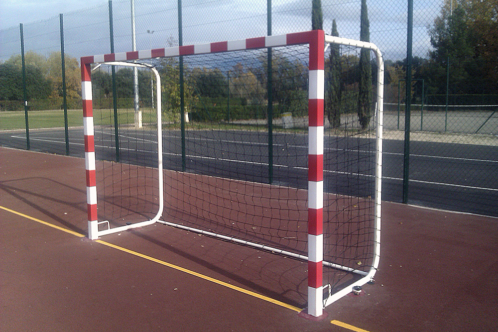 Image of   Aluminium Handball Goal Sectional 50 mm - 2 stk.