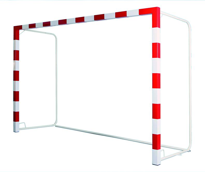 Image of   Aluminium Mobile Handball Goal Gennemskåret 32 mm med stabilisator - 2 stk.