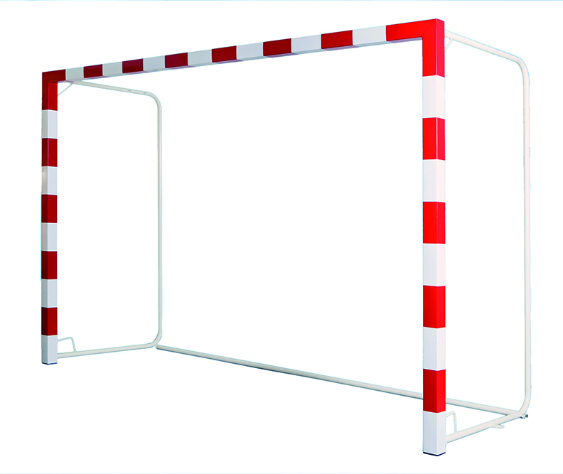 Image of   Aluminium Handball Goal Gennemskåret 32 mm med stabilisator - 2 stk.