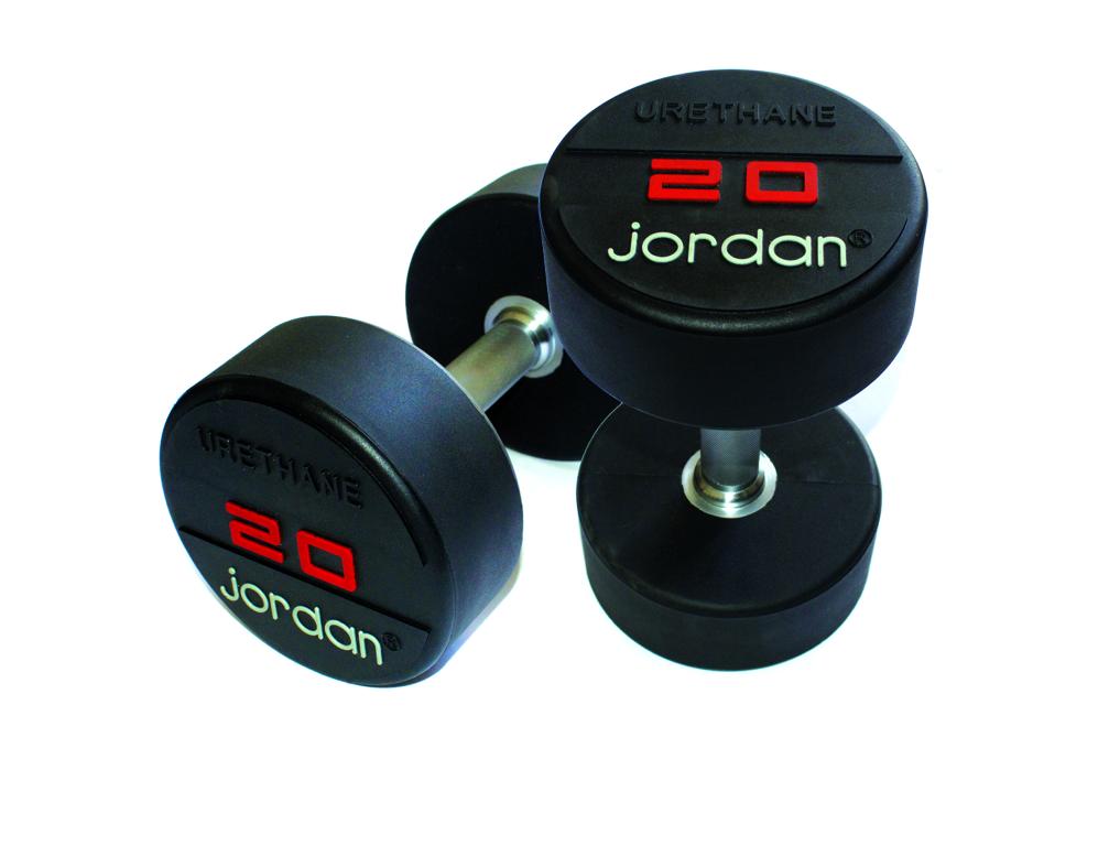 - Jordan Urethaan Dumbbells - Paar_20 kg