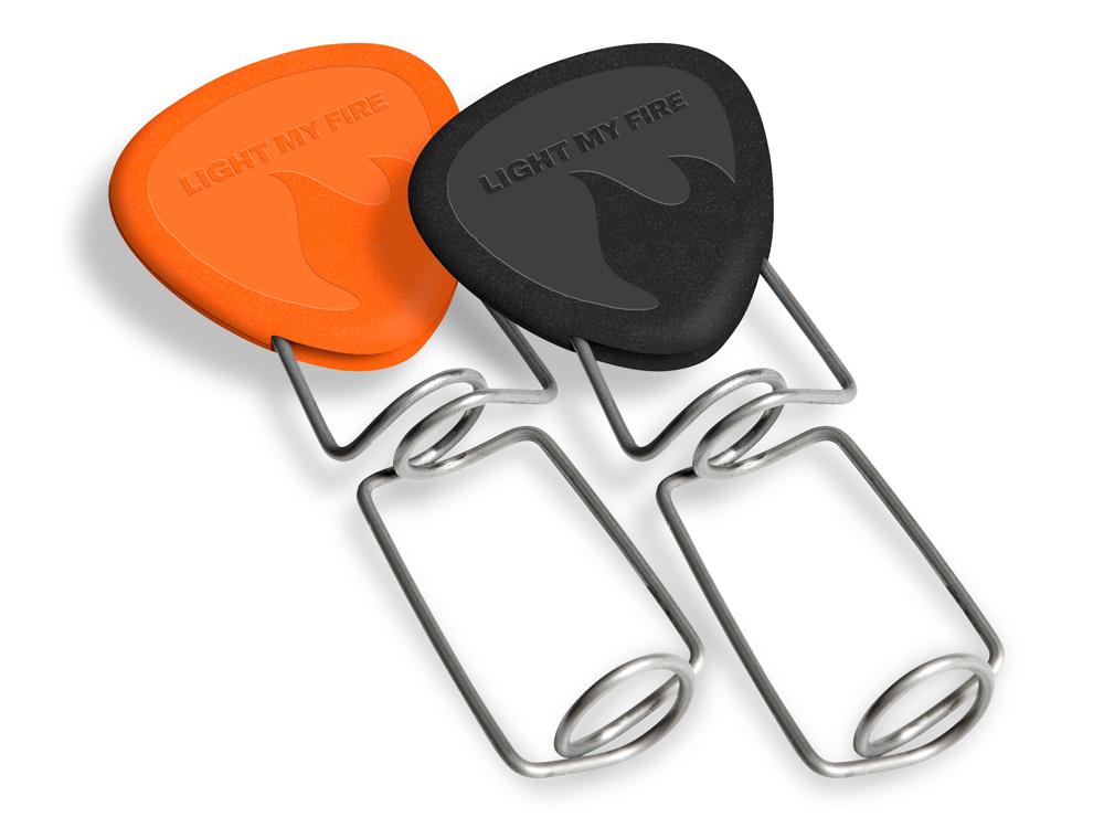 Image of   LMF Bedstefar's FireFork 2pack - Black / Orange