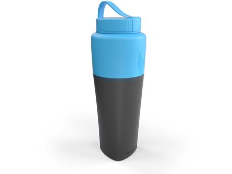 Image of   LMF Pack-up-flaske - Cyan Blue