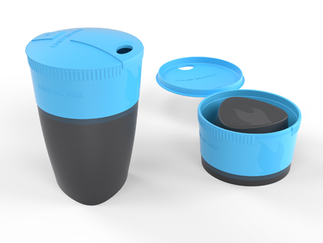Image of   LMF Pack-up-Cup - Cyan Blue