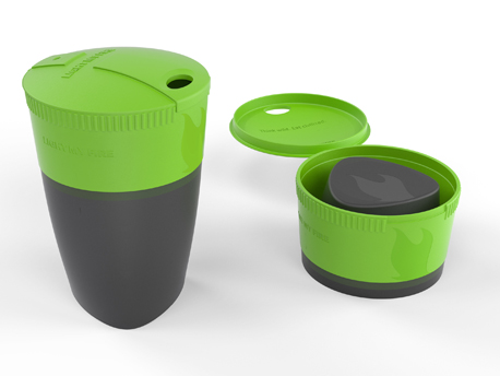 Image of   LMF Pack-up- Cup - Green