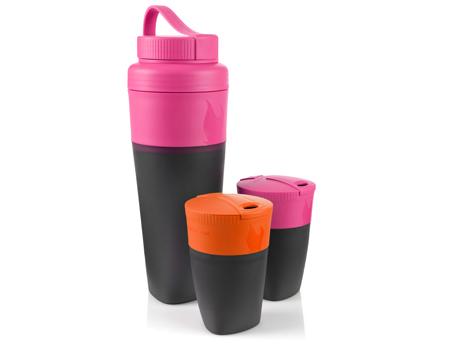 Image of   LMF Pack-up-Drink Kit - Fuchsia / Orange