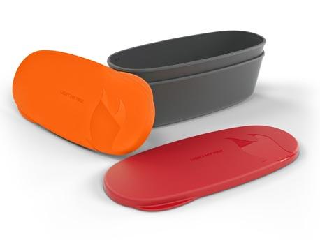 Image of   LMF SnapBox Oval - Rød / Orange