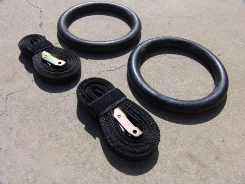 Training Rings met markering op strap