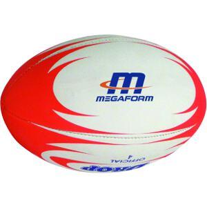 Image of   Megaform Rugby Ball - Størrelse 4