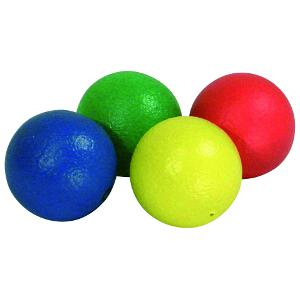 Image of   Hud-Coated Foam Balls - Rød