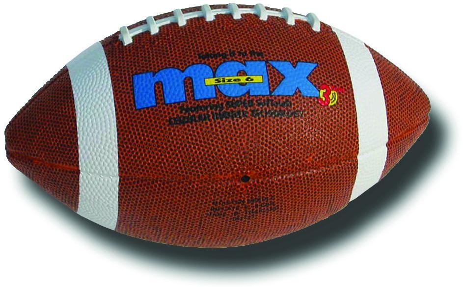 Image of   Max Pro Gummi Amerikansk fodbold - størrelse 6