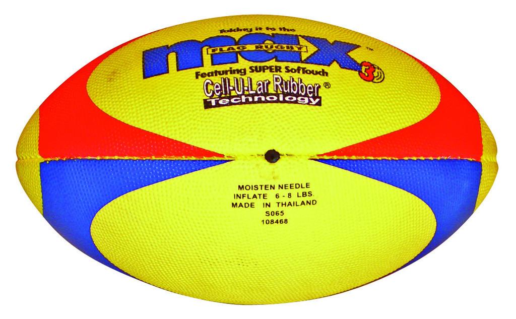 Image of   Max Flag Rugby Ball - Størrelse 3