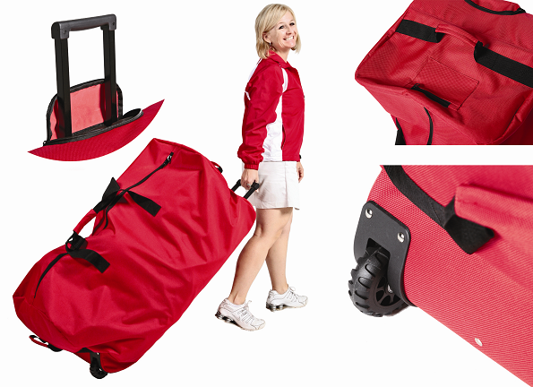 Image of   Big Red hjul Duffle