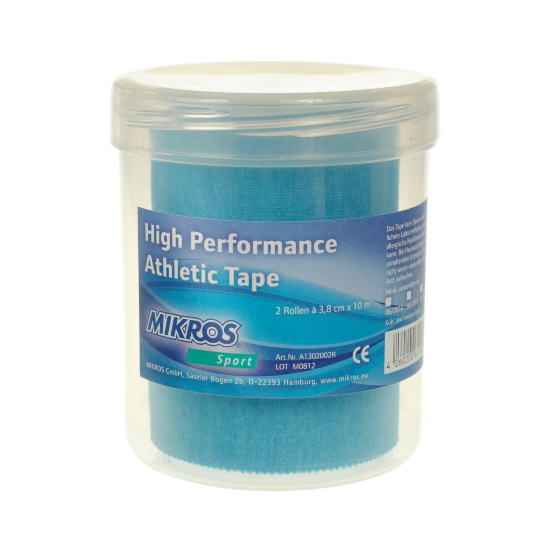 Image of   Mikros Classic Tape - Blue - 2 Pieces